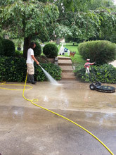 Pressure House Washing - Accidental Falls