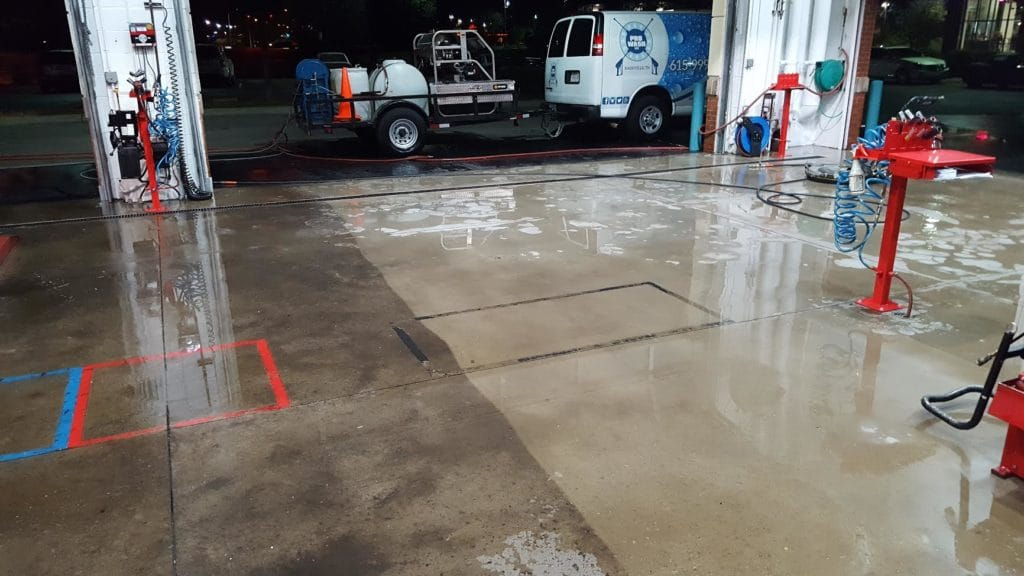Commercial Pressure Washing Brentwood TN