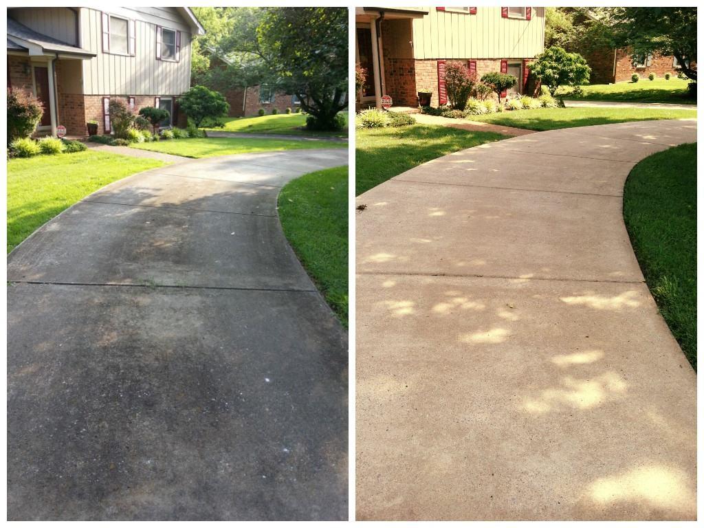 sidewalk stain