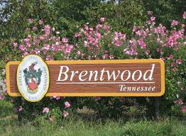 Brentwood, TN City Sign