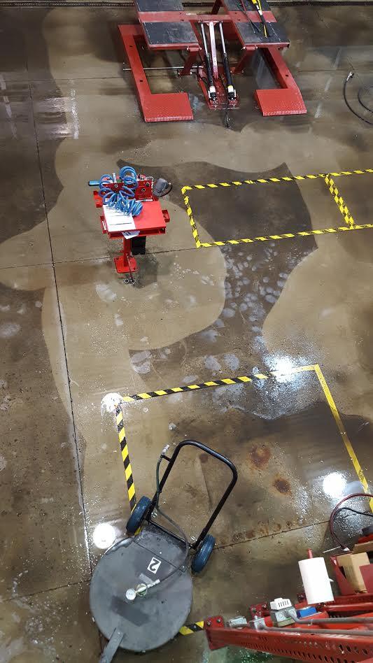 Nashville hot water pressure washing